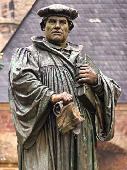 Luther Memorials by Clyde