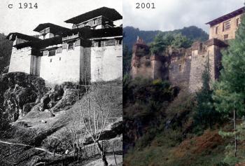 Ancient Ruin of Drukgyel Dzong (T) by Solivagant