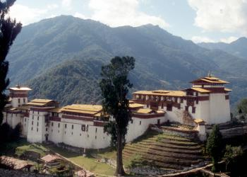 Dzongs: the centre of temporal and religious authorities (Punakha Dzong, Wangdue Phodrang Dzong, Paro Dzong, Trongsa Dzong and Dagana Dzong) (T) by Solivagant