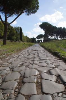 Via Appia 'Regina Viarum' (T) by Hubert Scharnagl