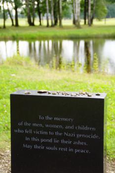Auschwitz Birkenau by Hubert Scharnagl