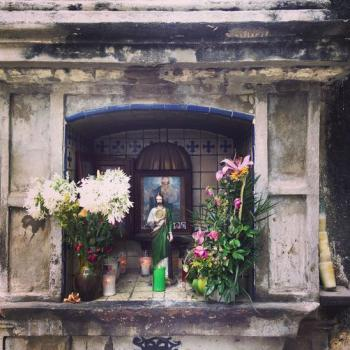 Popocatepetl monasteries by Ian Cade