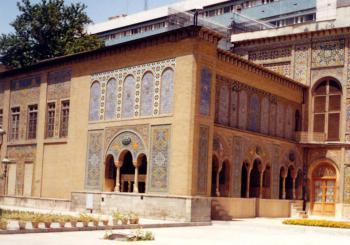 Golestan Palace by Szucs Tamas
