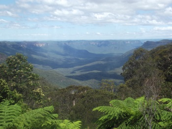 Greater Blue Mountains by John Booth
