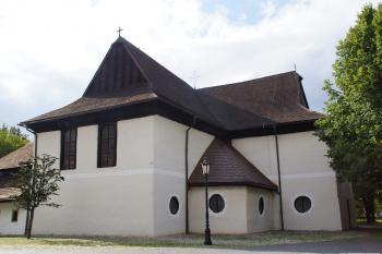 Wooden Churches of the Slovak Carpathians by Hubert Scharnagl