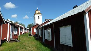 Gammelstad by Ian Cade