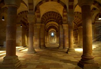 Speyer Cathedral by Hubert Scharnagl