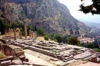 Archaeological Site of Delphi by Christer Sundberg