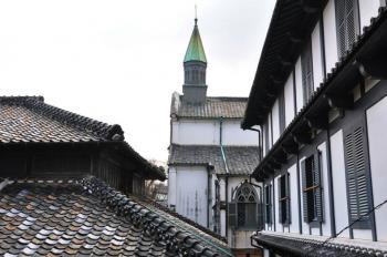 Churches and Christian Sites in Nagasaki (T) by Frederik Dawson