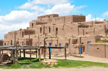Taos Pueblo by Frederik Dawson