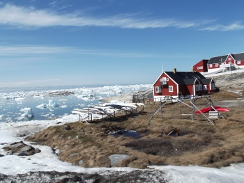 Ilulissat Icefjord by John Booth