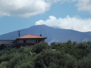 Mount Etna by John Booth