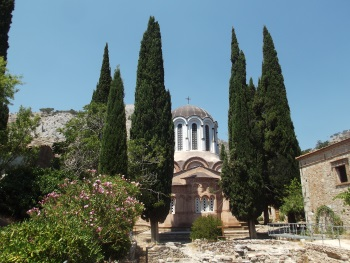 Monasteries of Daphni, Hosios Loukas and Nea Moni of Chios by John Booth