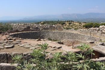 Mycenae and Tiryns by John Booth