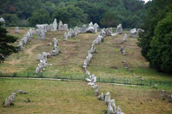Sites mégalithiques de Carnac (T) by Hubert Scharnagl