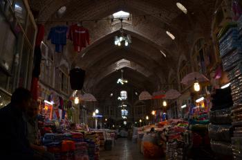 Tabriz Bazaar by Stanislaw Warwas