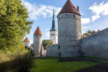 Tallinn by Michael Turtle