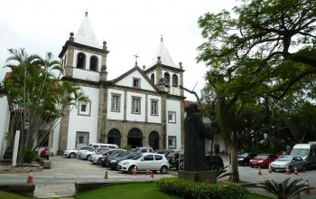 Eglise et Monastère de Sao Bento, Rio de Janeiro (T) by Ian Cade