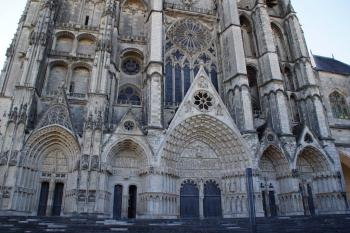 Bourges Cathedral by Hubert Scharnagl