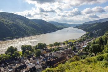 Upper Middle Rhine Valley by Michael Turtle