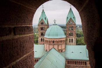 Speyer Cathedral by Michael Turtle