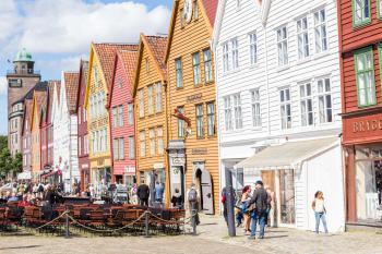 Bryggen by Michael Turtle