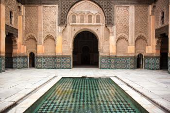 Medina of Marrakesh by Michael Turtle