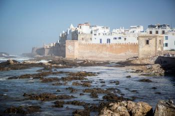 Medina of Essaouira by Michael Turtle