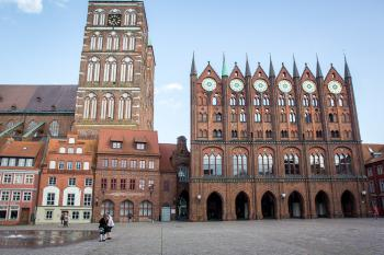 Stralsund and Wismar by Michael Turtle