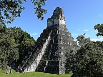 Tikal National Park by Clyde