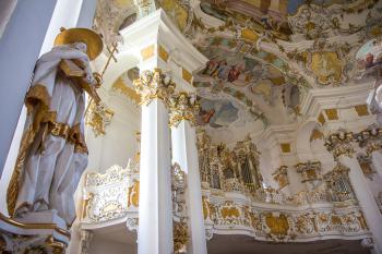 Pilgrimage Church of Wies by Michael Turtle