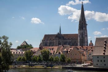 Regensburg by Michael Turtle