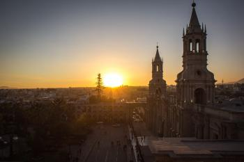 Arequipa by Michael Turtle