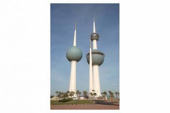 Abraj Al-Kuwait (T) by Michael Novins