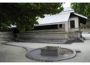 Coral Stone Mosques of Maldives (T) by Michael Novins