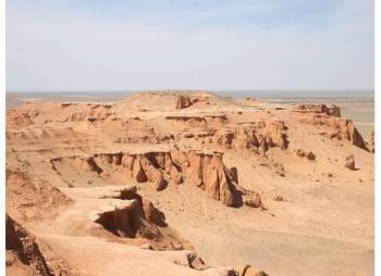 Cretaceous Dinosaur Fossil Sites in the Mongolian Gobi (T) by Michael Novins