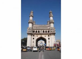 The Qutb Shahi Monuments of Hyderabad Golconda Fort, Qutb Shahi Tombs, Charminar (T) by Michael Novins