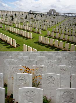 Sites funéraires et mémoriels de la Première Guerre mondiale (Front Ouest) (T) by Hubert Scharnagl