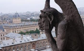 Paris, Banks of the Seine by Hubert Scharnagl