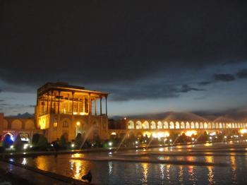 Meidan Emam, Esfahan by Alexander Parsons