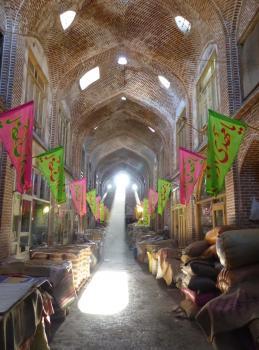 Tabriz Bazaar by Solivagant
