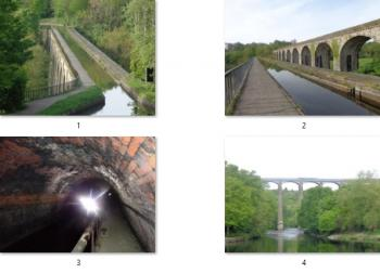 Pontcysyllte Aqueduct and Canal  by Tsunami