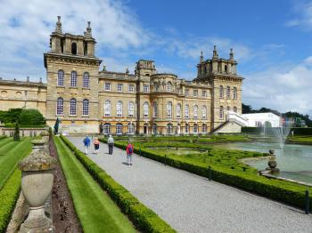 Blenheim Palace by Clyde