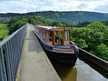 Pontcysyllte Aqueduct and Canal  by Clyde