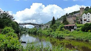 Ironbridge Gorge by Clyde