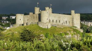 Gwynedd Castles by Clyde