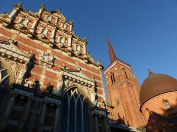 Roskilde Cathedral by Clyde