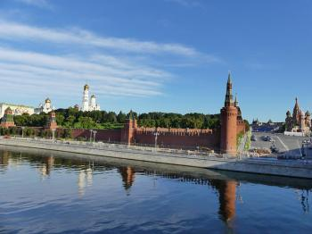 Kremlin and Red Square by Clyde