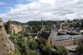 City of Luxembourg by Kbecq