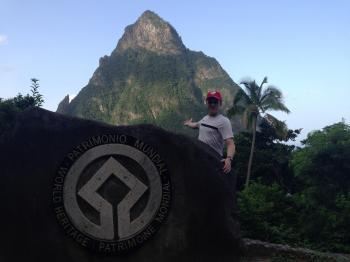 Pitons Management Area by Tom Livesey